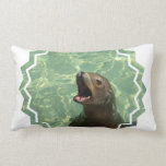 Chatty Sea Lion Pillow