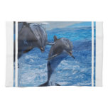 Dolphin Jumping Towel