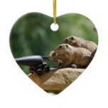 Prairie Dog Soldiers Ornament