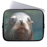Sea Lion with Whiskers Computer Sleeve