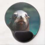 Sea Lion with Whiskers Gel Mouse Pad