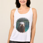 Sea Lion with Whiskers Tank Top