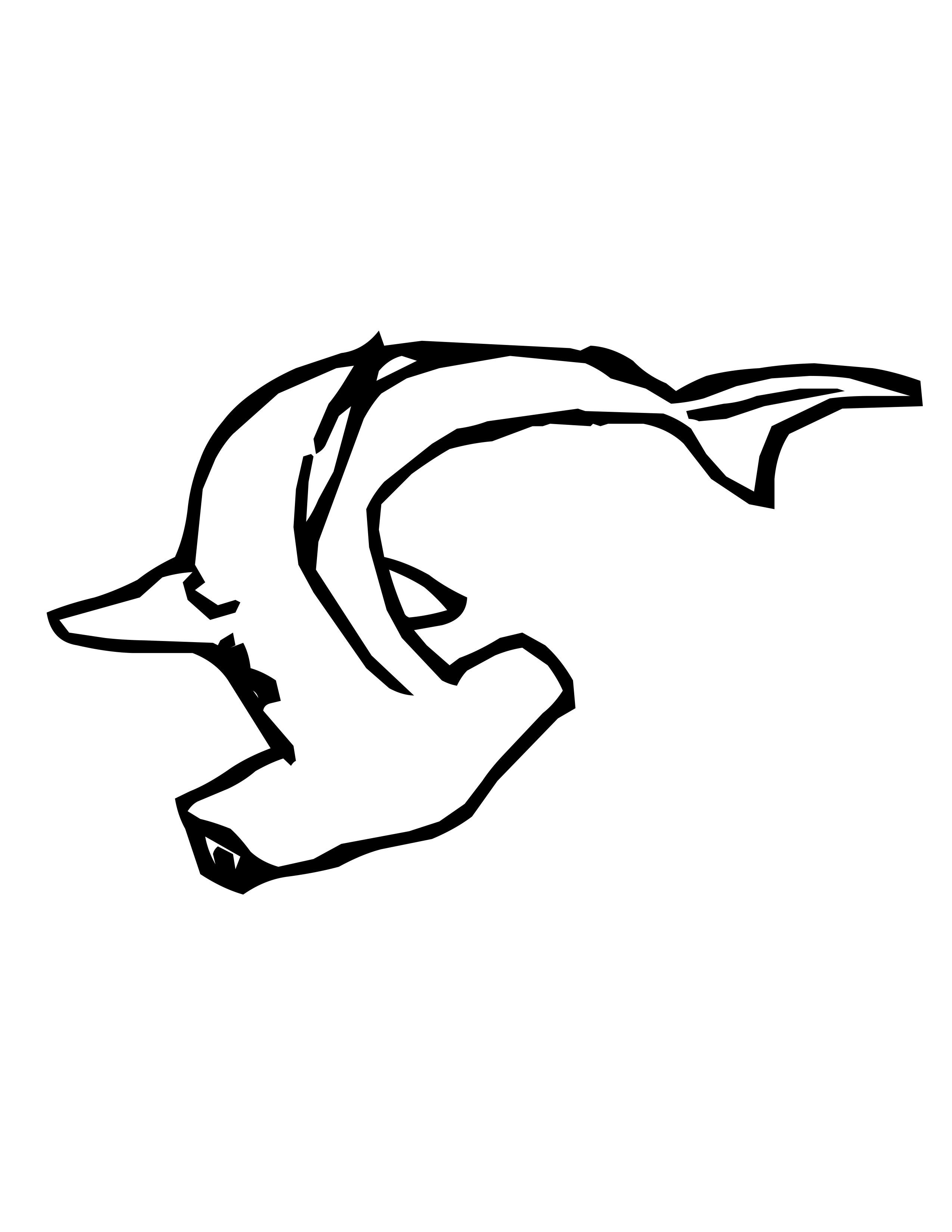 Marine animal coloring pages for Hammerhead shark coloring pages